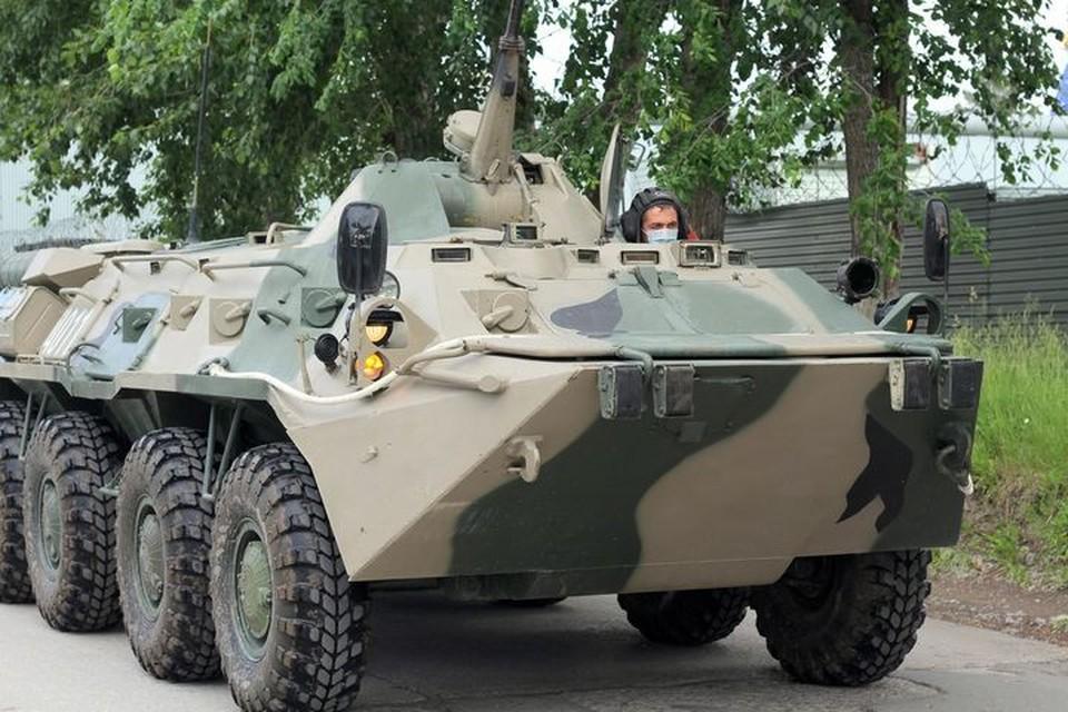 Как заявил мэр Новосибирска, военные на Параде Победы, пройдут без масок.