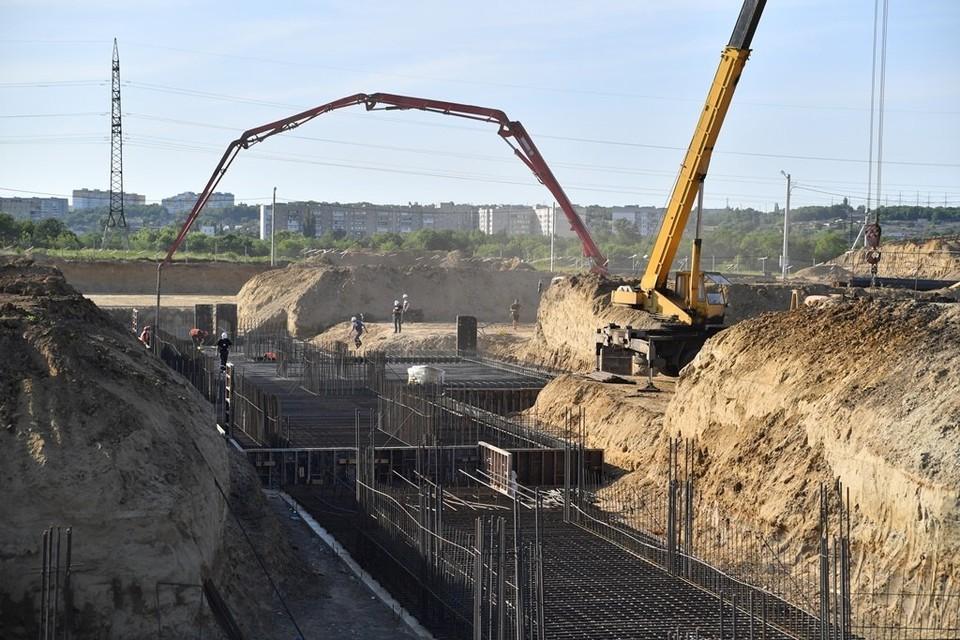 Строительство онкоцентра в Саратове