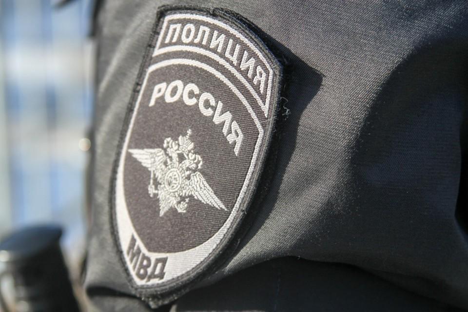 Полицейские доставили подозреваемого в отдел