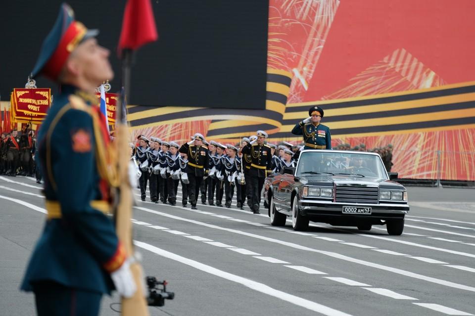 Прямая онлайн-трансляция с празднования Дня Победы на Дворцовой площади 24 июня 2020 года.