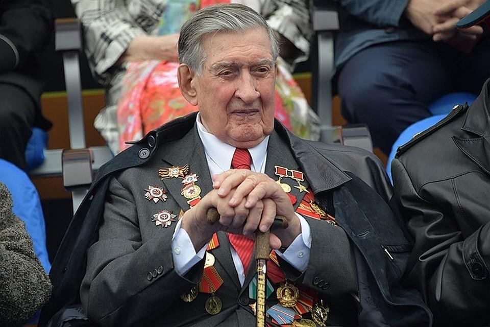Ветеран Великой Отечественной Владимир Долгих