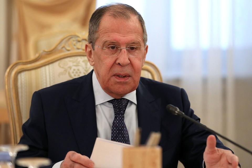 Глава МИД России Сергей Лавров.