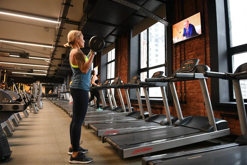 С 25 июня свою работу начали фитнес-центры.