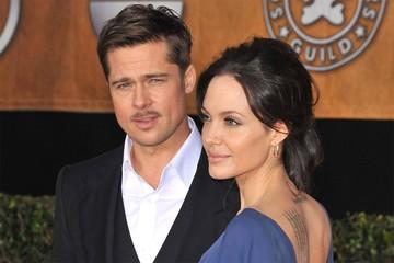 Брэд Питт впервые за четыре года приехал домой к Анджелине Джоли