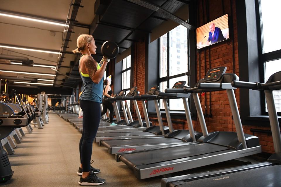 Фитнес-центры могут работать при загрузке не более, чем на 25% от пропускной способности.