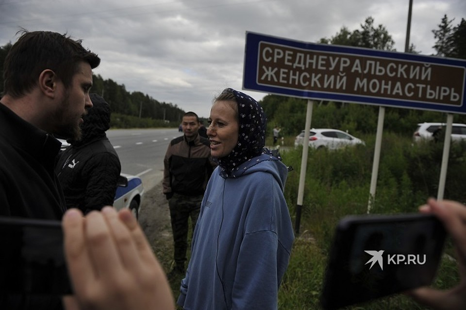 Собчак снимала на Урале документальный фильм, но визит закончился скандалом