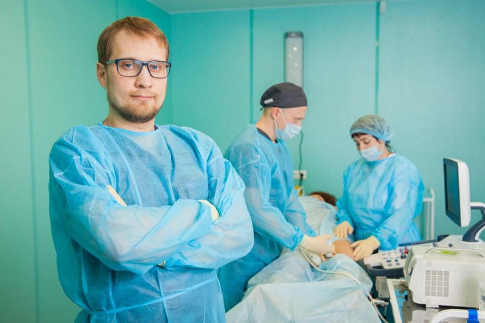 Лечение лазером в Иркутске: медицинский центр «НаноМед» помогает справиться с варикозом и геморроем. На фото: Прокопьев Никита Алексеевич, врач сердечно-сосудистый хирург, флеболог, стаж: 10 лет.