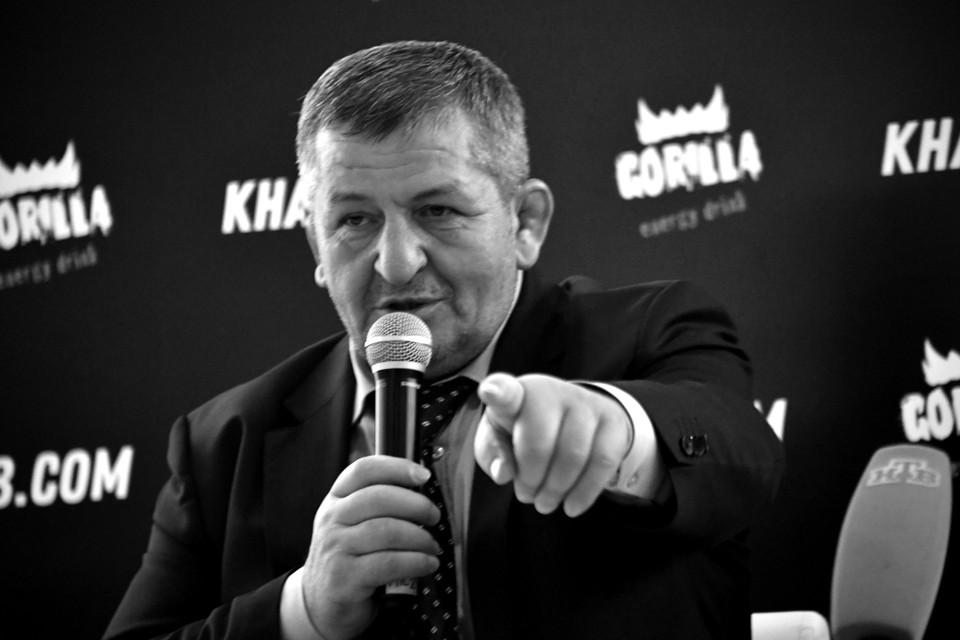 Умер отец Хабиба Нурмагомедова Абдулманап Нурмагомдедов