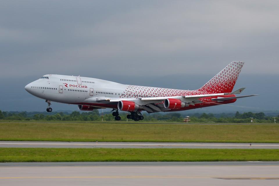 Прямые рейсы в Сочи будут осуществлять лайнеры Boeing-747-400. Фото: пресс-служба аэропорт Владивосток