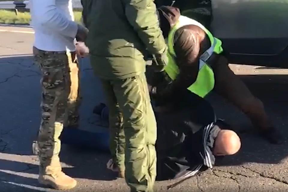 После нескольких дней слежки трех наркокурьеров было решено брать с поличным. Фото: ФСБ РФ