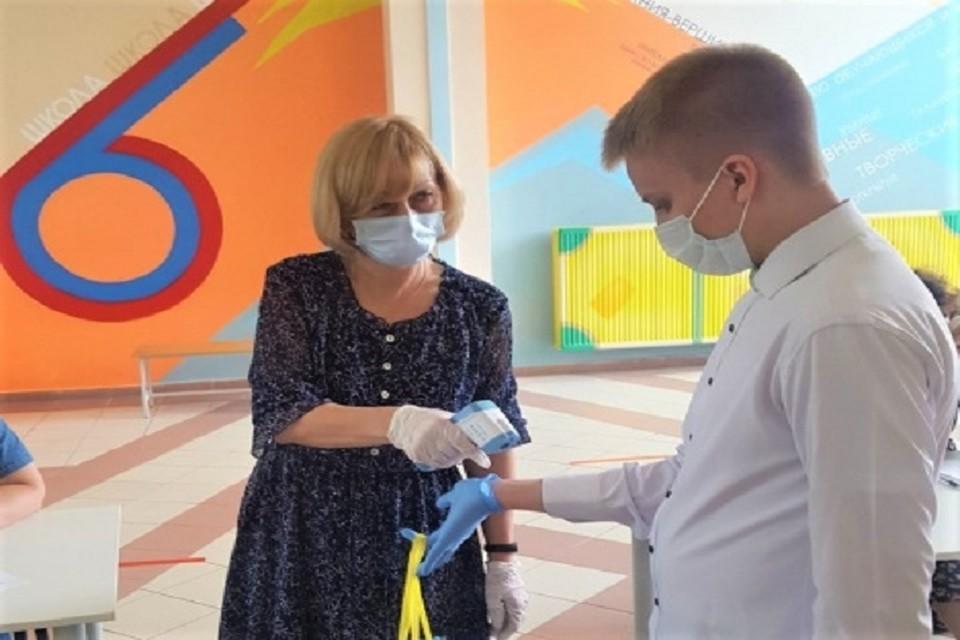 Выпускники в Ханты-Мансийске сдают первые ЕГЭ. Фото администрации города.