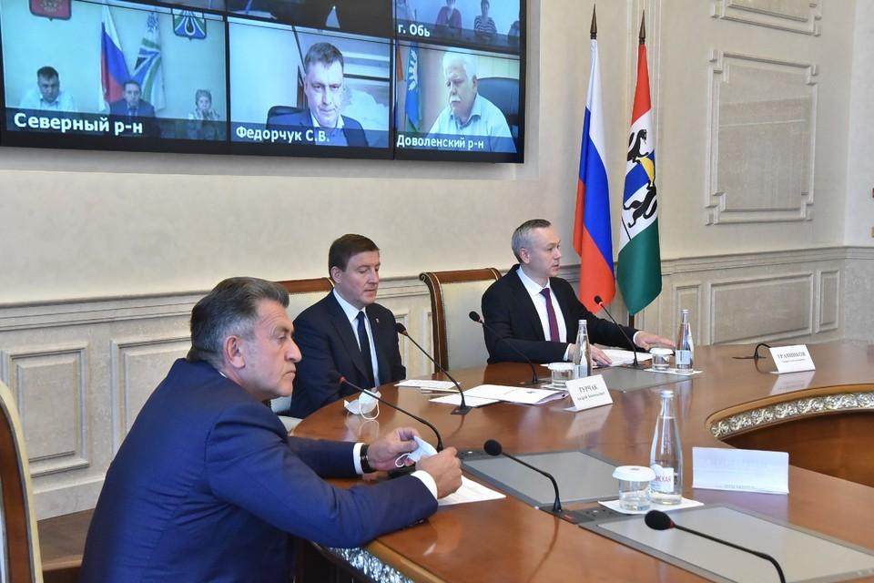 На встрече были выслушаны мнения и предложения по сбору мнений. Фото: nso.ru