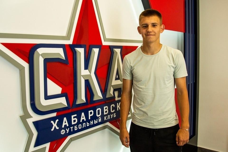 Защитник из «молодежки» будет играть в основной команде «СКА-Хабаровска»
