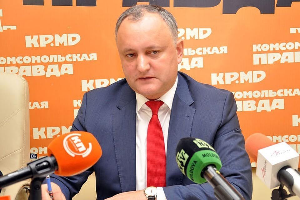 Президент Молдовы Игорь Додон: Как я и обещал, деньги дойдут до людей, независимо от того, как сильно будет сопротивляться Альянс хаоса