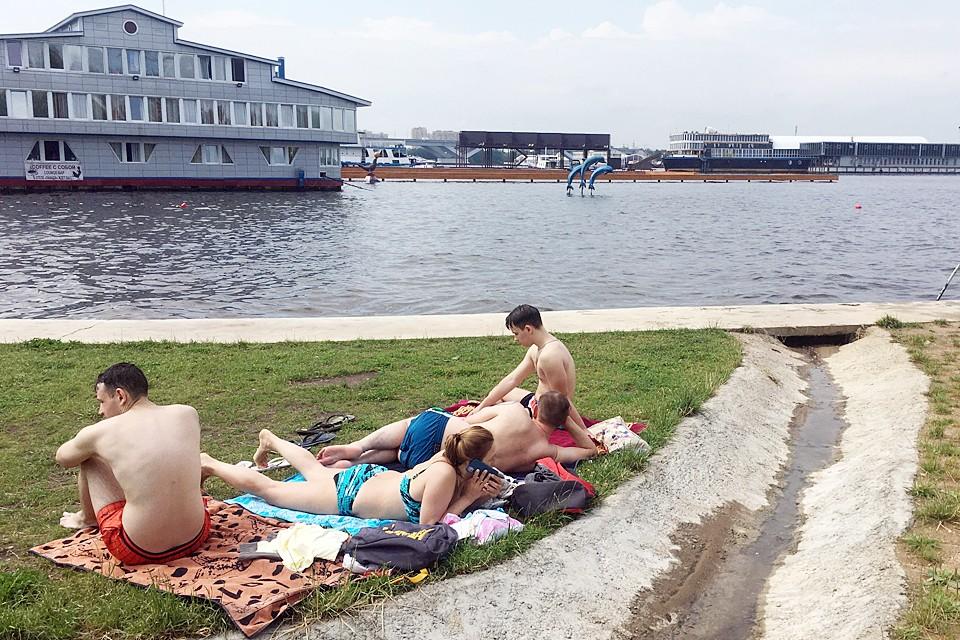 Пляжи в Московской области заработали с 1 июля
