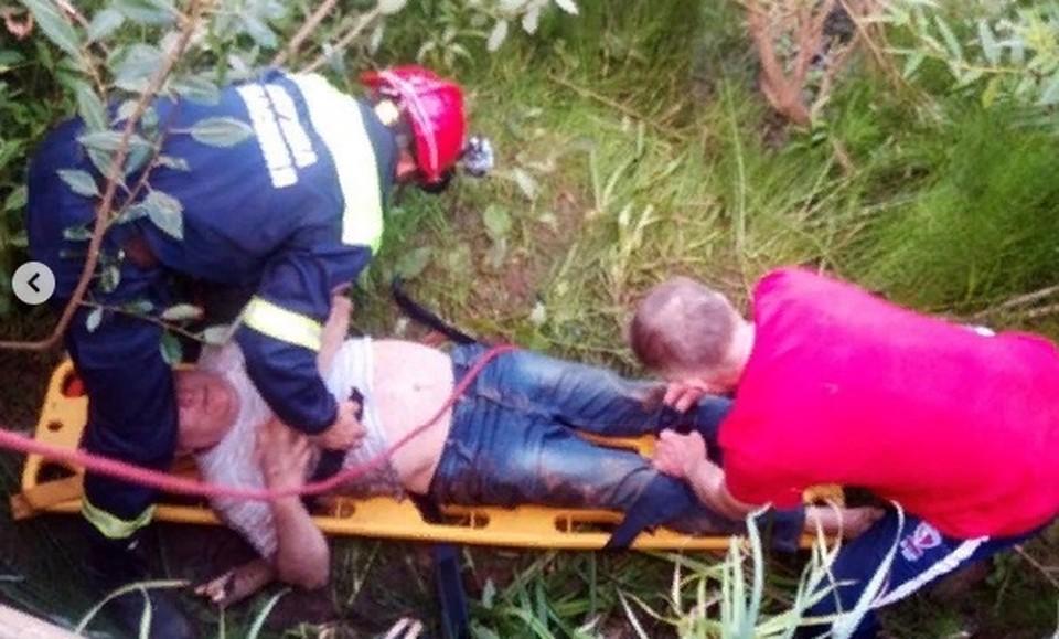 Мужчина упал с бетонного заграждения у Чепцы в Глазове