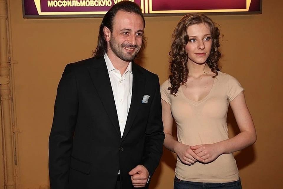Илья Авербух и Лиза Арзамсова