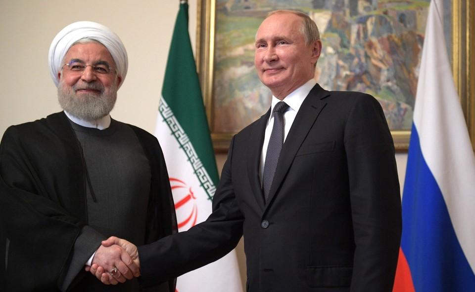 Путин и Роухани обсудили сотрудничество по Сирии, СВПД и коронавирус