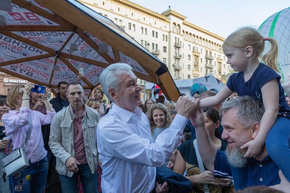 Если ситуация не ухудшится, и мы останемся в том же тренде по снижению заболеваемости, День города состоится по расписанию. Фото: пресс-служба Правительства Москвы