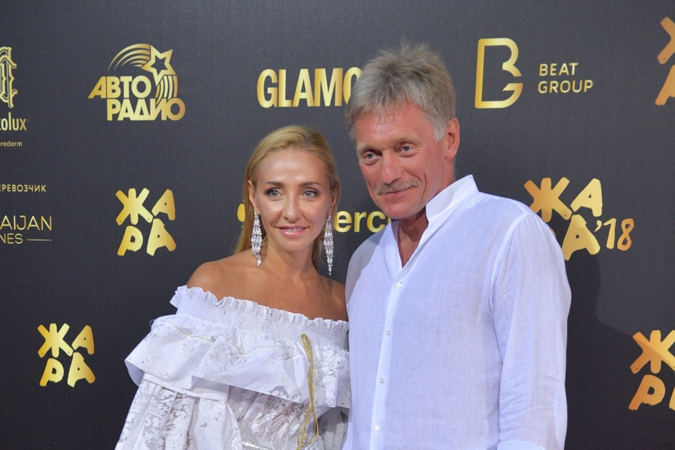 Дмитрий Песков рассказал о семейной жизни с Татьяной Навкой