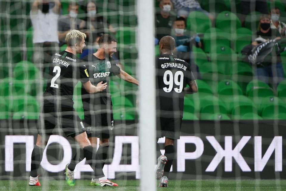 Фото: ФК Краснодар/Андрей ШРАМКО
