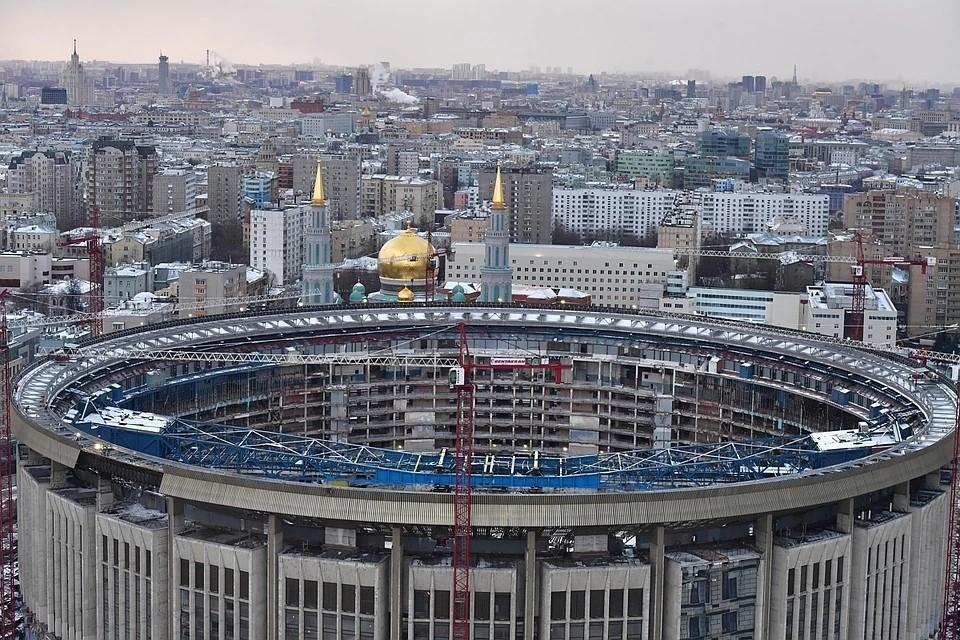 """Стадион """"Олимпийский"""" закрыли на реконструкцию еще в январе 2019 года."""