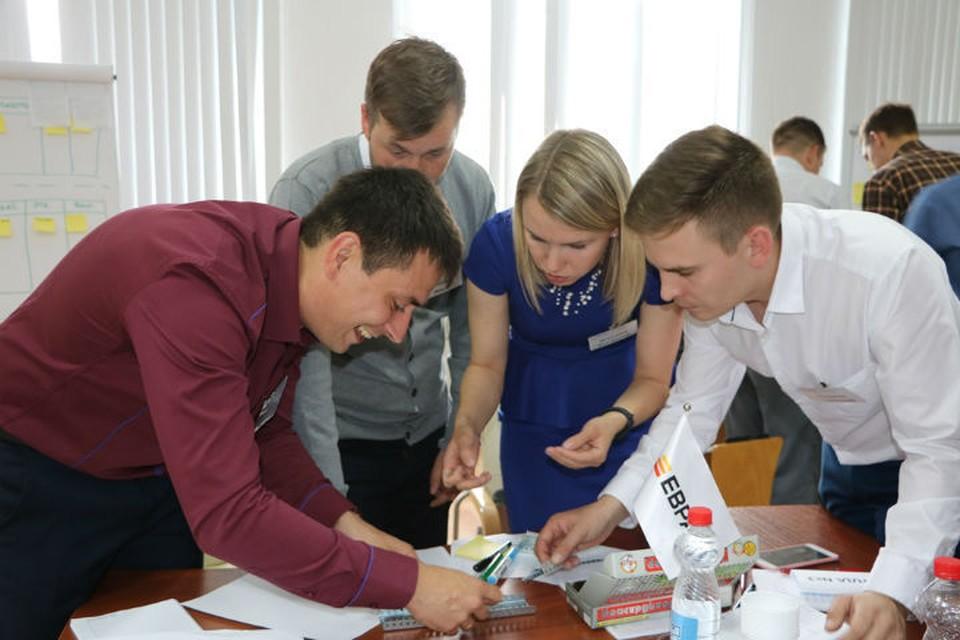 На конкурсе молодых руководителей в Качканаре в 2019 году Фото: ЕВРАЗ