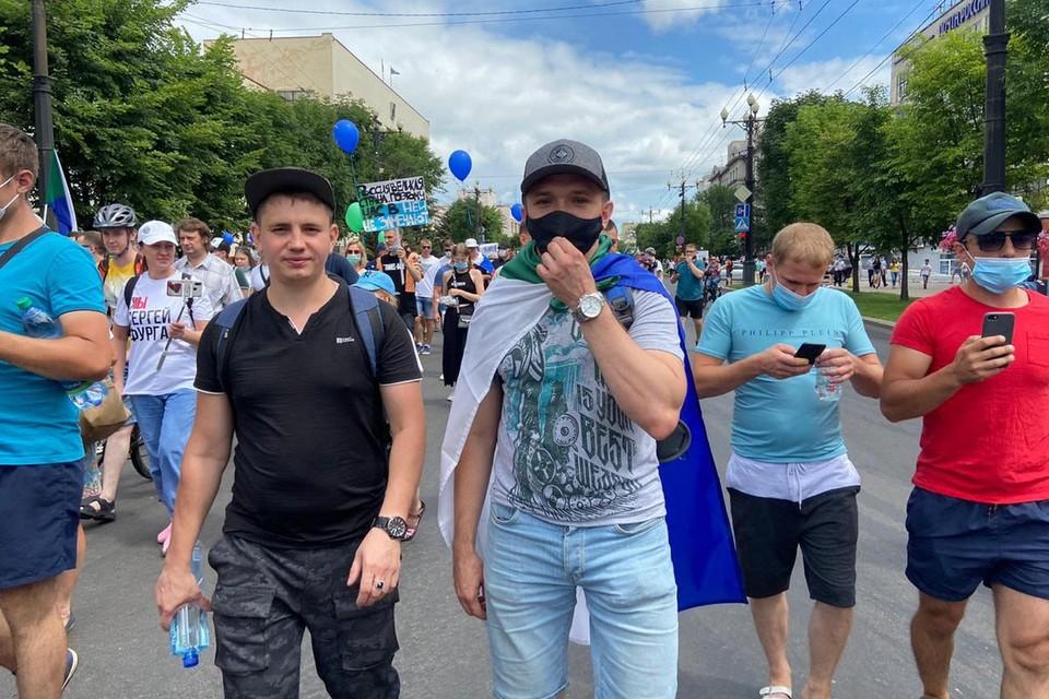 В субботу в Хабаровске прошла и мирно завершилась очередная акция протеста.
