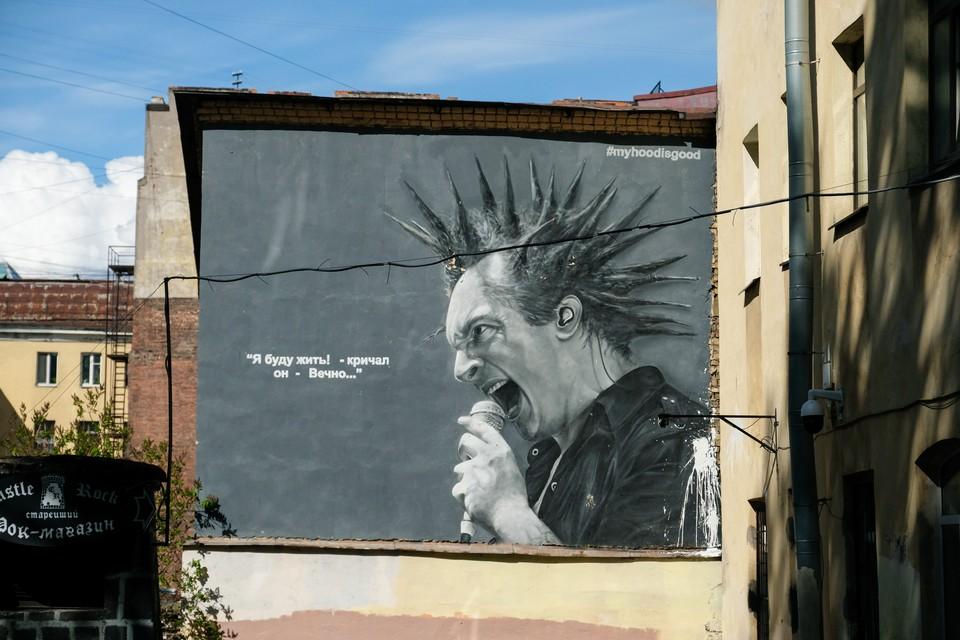 В Петербурге хотят ставить спецконструкции для граффити.