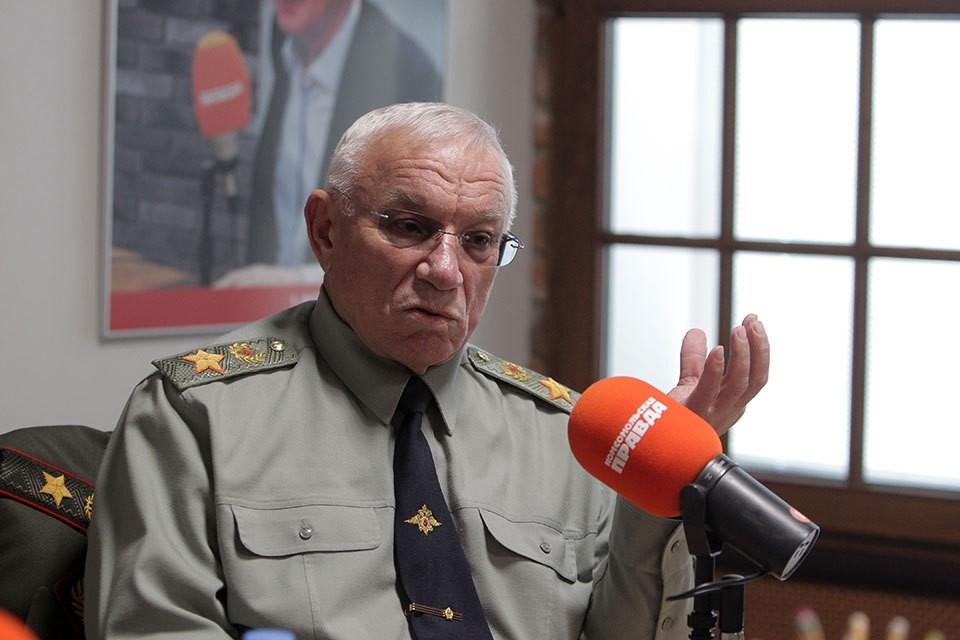 Экс-глава МВД, бывший вице-премьер, генерал армии Анатолий Куликов