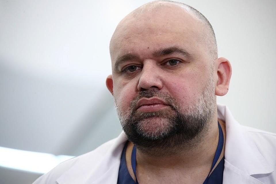 Денис Проценко рассказал о характерных признаках кашля при коронавирусе. Фото: Денис Шарифулин / ТАСС