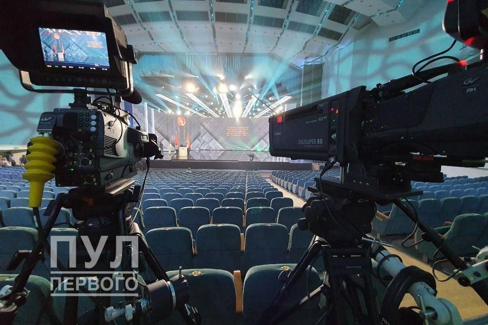 """Лукашенко обратится 4 августа с посланием к народу и собранию. Фото: Телеграм-канал """"Пул Первого"""""""