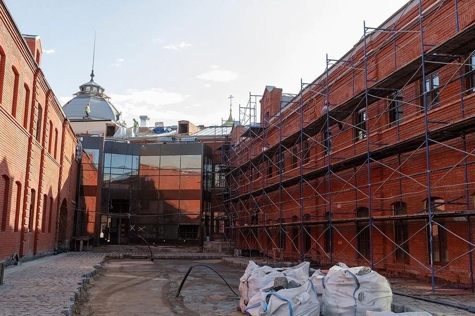 Будущая музейная площадь у филиала ГИМа в Туле. Фото предоставлены пресс-службой правительства Тульской области.