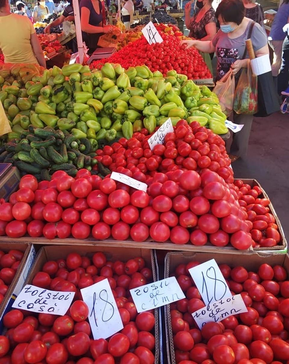 Цена на помидоры в Молдове пока высокие. Фото: соцсети