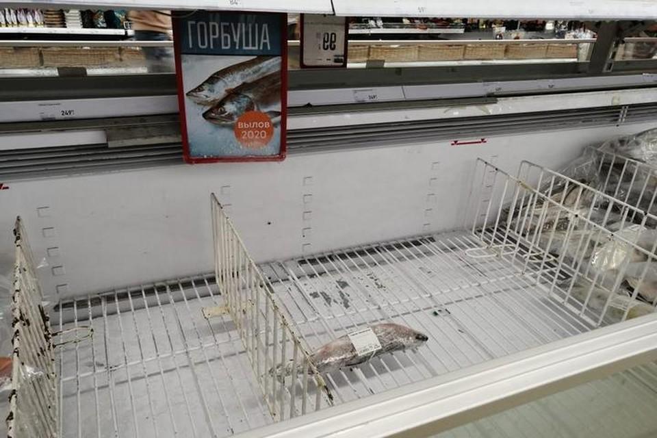 В ближайшие две недели в хабаровских магазинах появится лосось по сниженным ценам