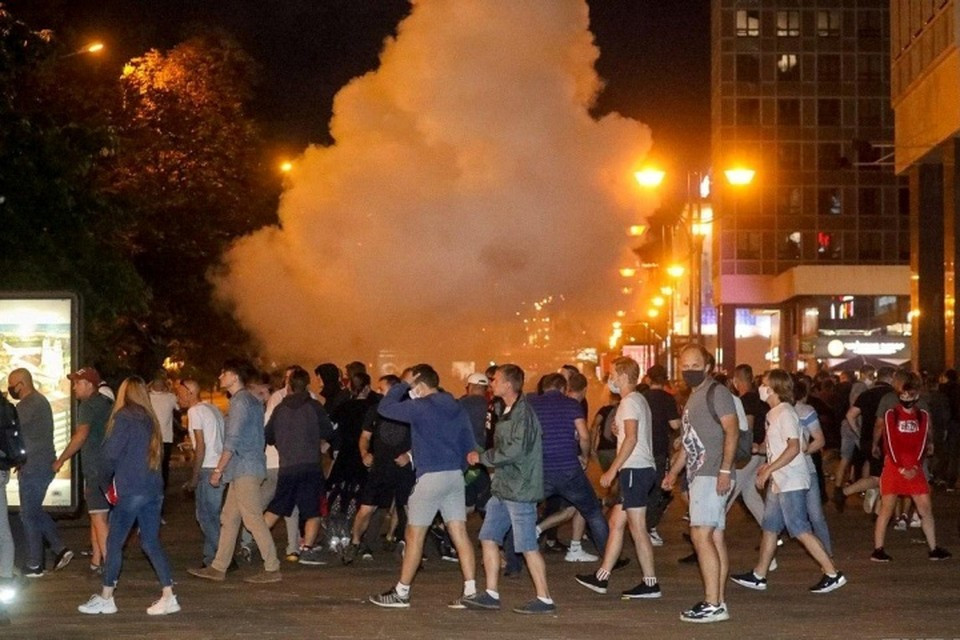 В Минске этой ночью было жарко