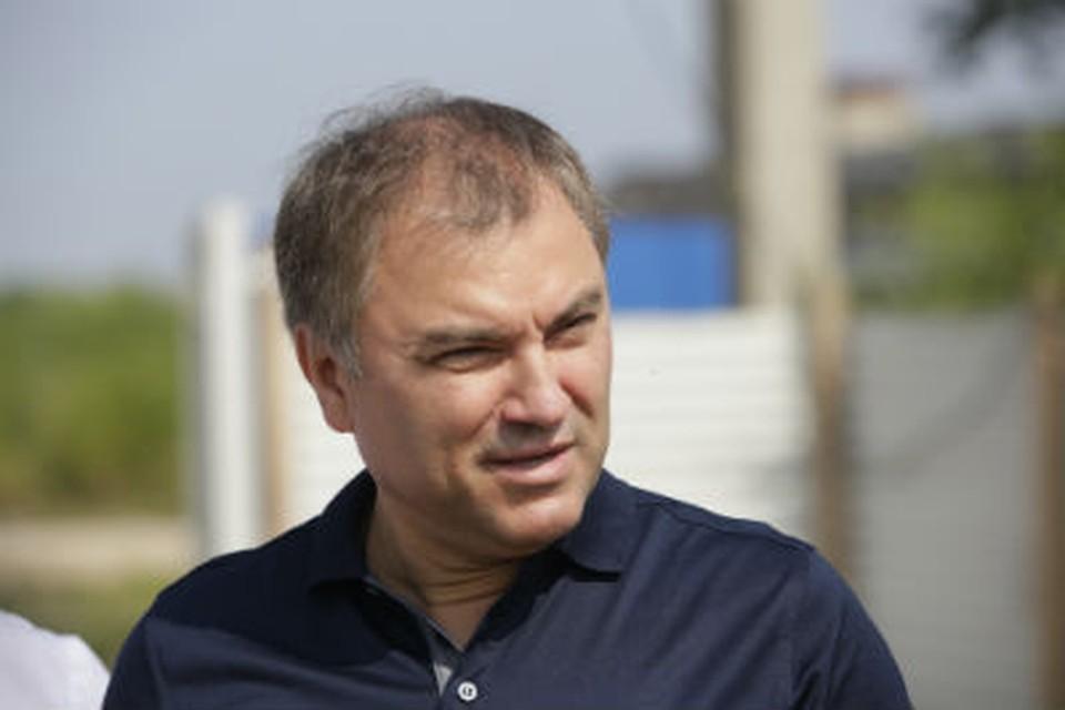 Вячеслав Володин предложил поднять зарплату водителя электротранспорта в Саратове