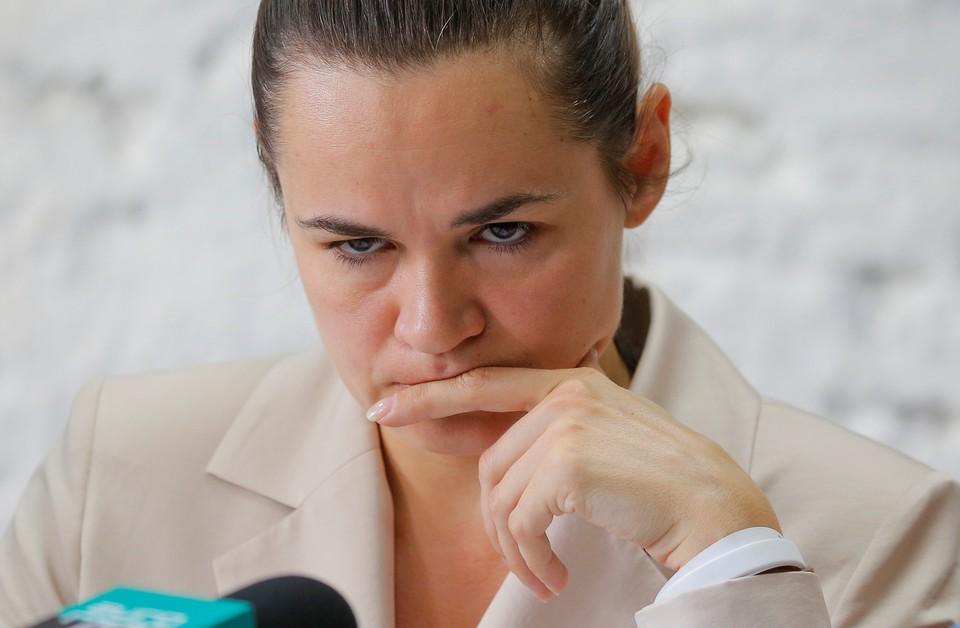 Светлана Тихановская уехала из Белоруссии