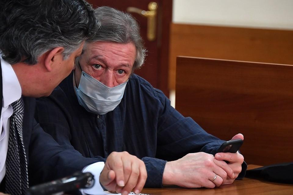 Ефремов не числиться в базе данных Боткинской больницы