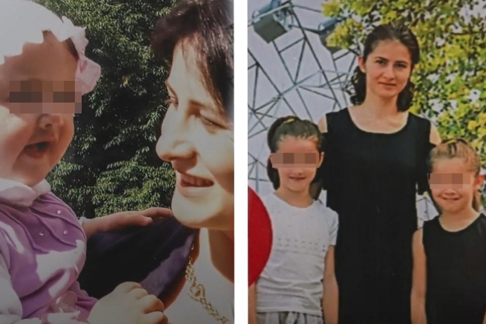 Без Алены растут двое дочерей