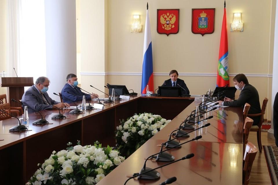 В районах Орловской области начали установку ФАПов. Фото: пресс-служба губернатора региона