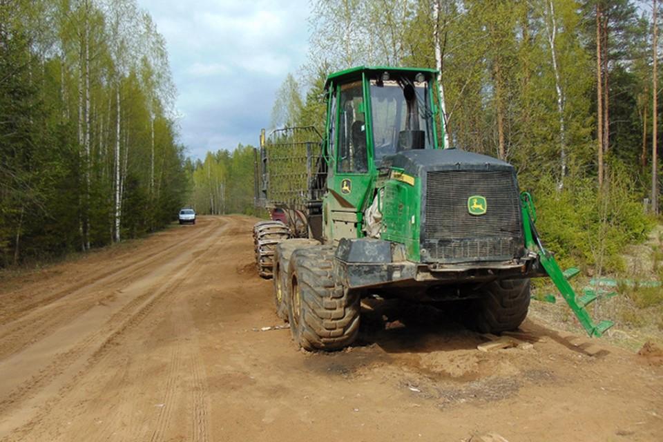 Похищенный трактор вернули владельцу Фото: УМВД России по Тверской области