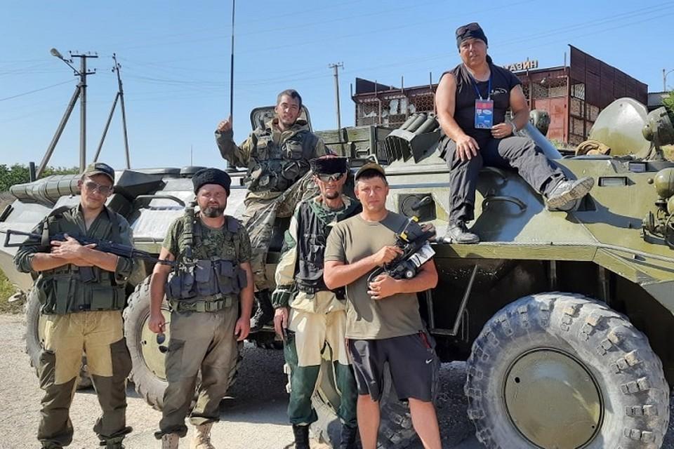 Съемочная группа работала в Крыму 10 дней. Фото: архив Романа Разума