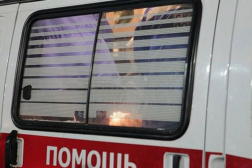"""16-летнего пассажира """"Лифана"""" отвезли в больницу."""