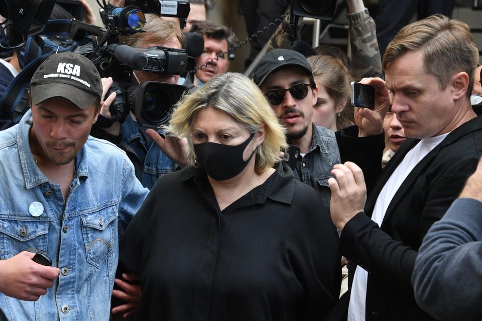 Татьяна Беркович находится в статусе подозреваемой по делу о сбыте наркотиков Михаилу Ефремову.