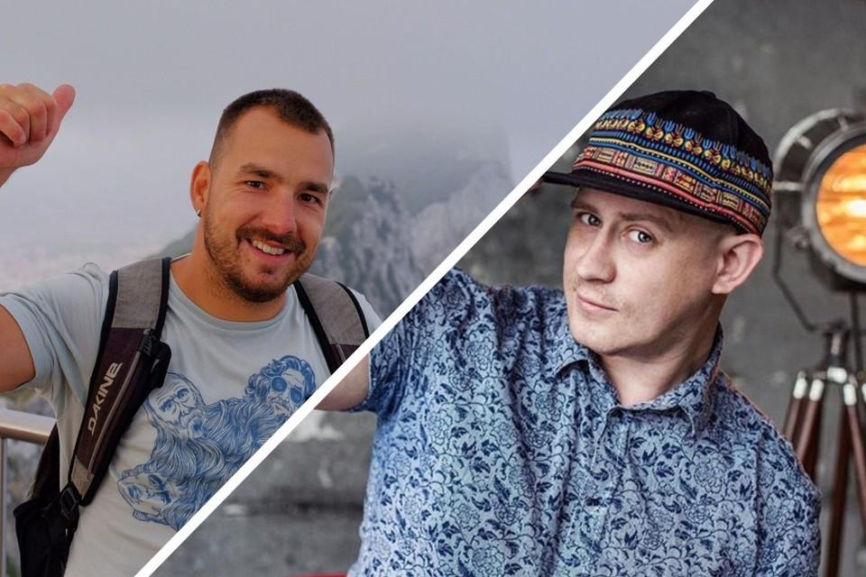Слева — Анатолий Гомзяков, справа — Алексей Хребтов. Фото: соцсети