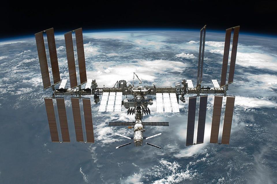 На Международной космической станции случилась утечка воздуха. Фото: Wikipedia, общественное достояние