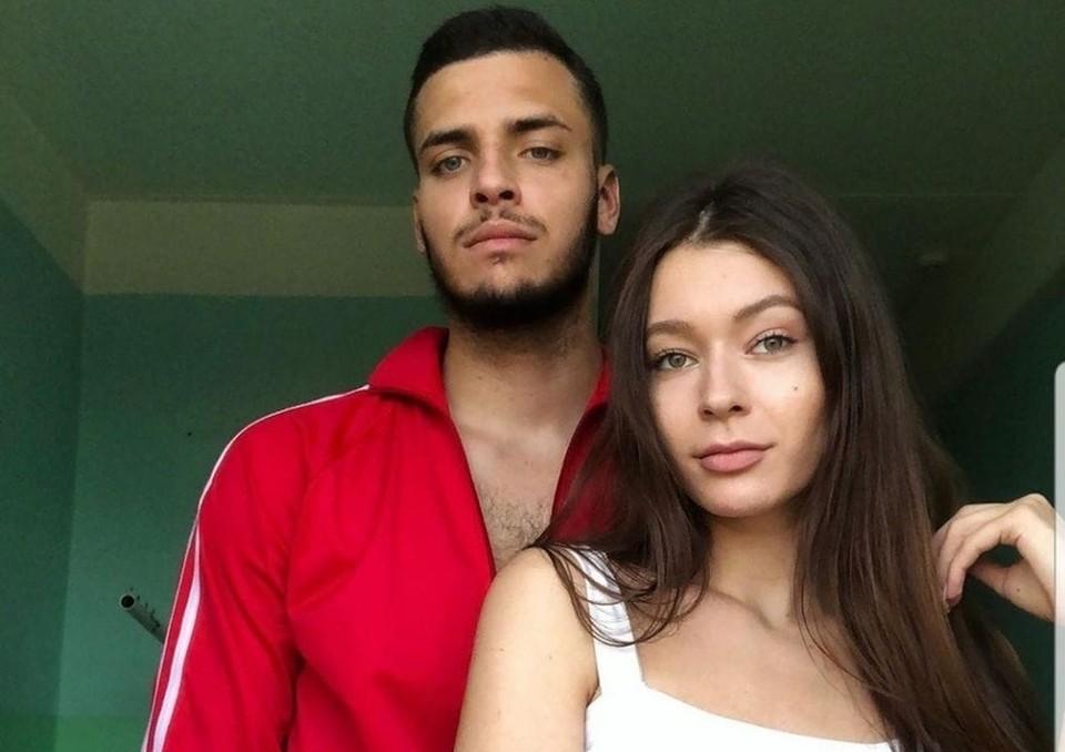 Дмитрий со своей девушкой Фото: личный архив