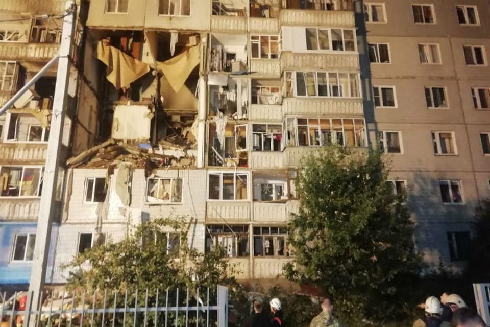 Взрыв произошел около 19 часов. Фото предоставлено очевидцами