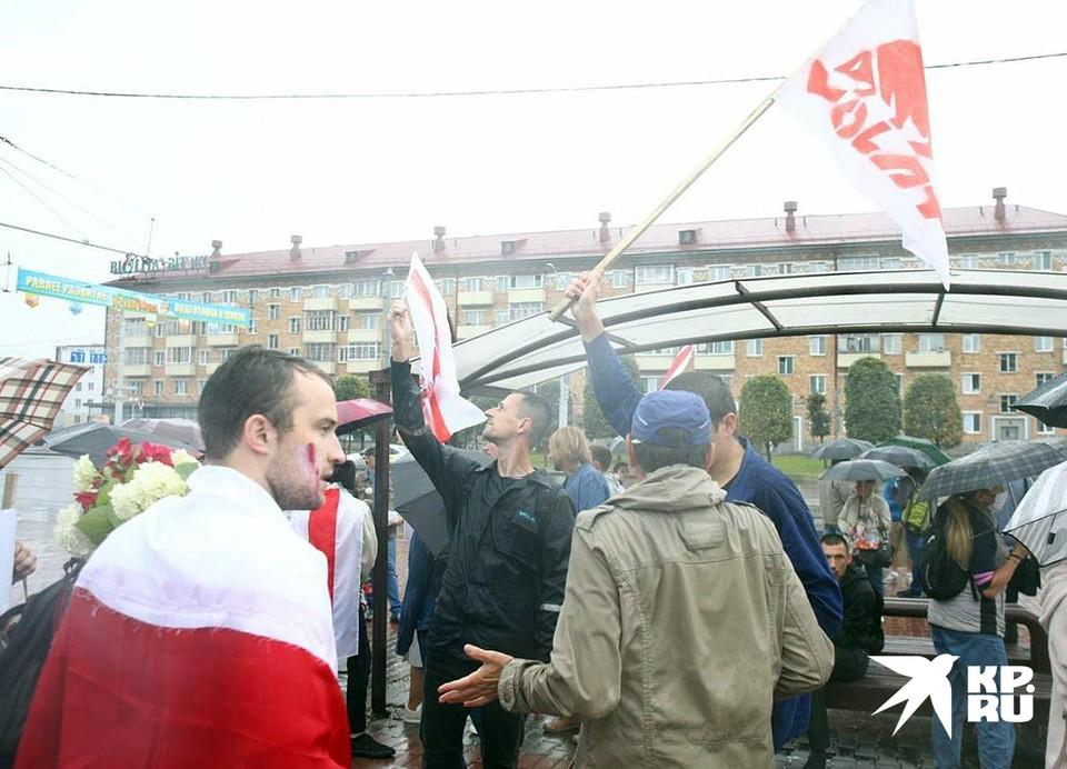 МВД Белоруссии обратилось к протестующим перед началом акции